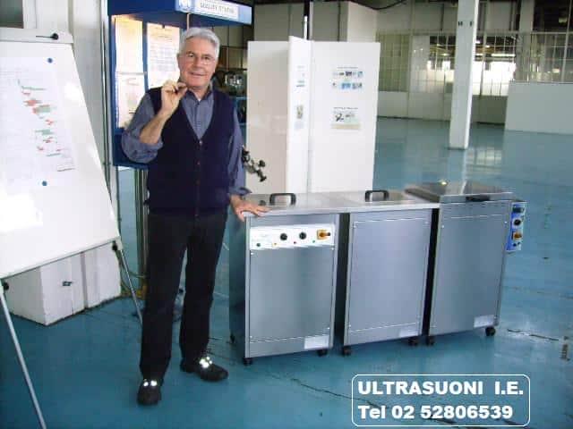 Impianti di lavaggio, risciacquo, asciugatura e protezione pezzi di precisione in metallo
