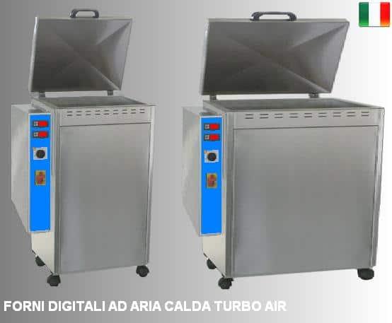 forni ad aria ventilata 25 digital