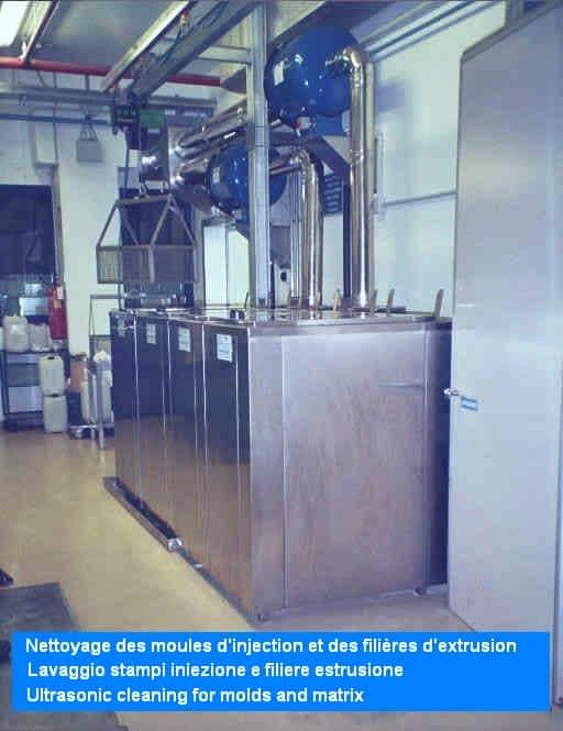 Impianti e tecnologie degli ultrasuoni, lavatrici industriali per ogni esigenza di pulitura