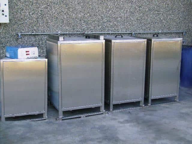lavatrici a ultrasuoni e impianti per pezzi e stampi