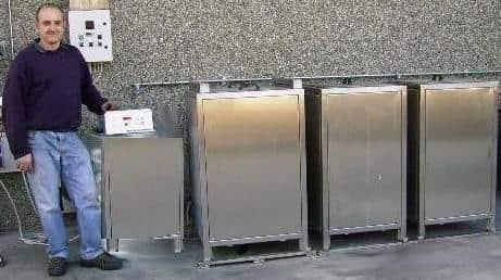 Impianti di pulizia, lavaggio, protezione e asciugatura pezzi e stampi per alluminio e zama