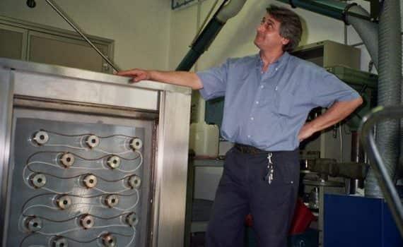 grandi lavatrici per stampi, motori e rulli anilox