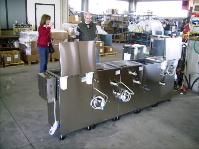 lavaggio modulare a 5 fasi
