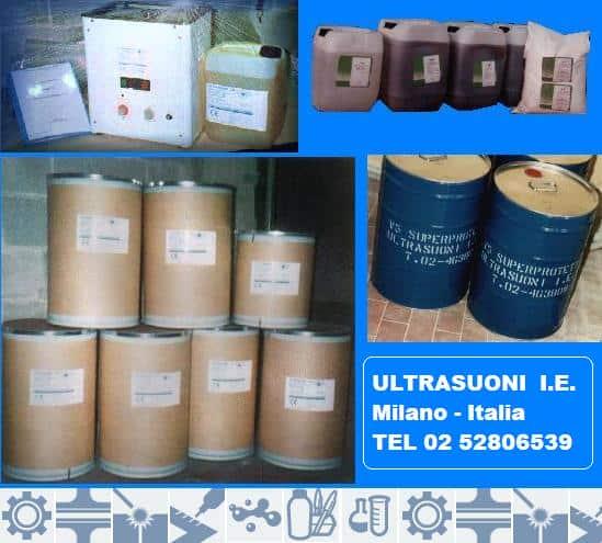detergenti e protettivi ottone,alluminio e acciaio inox